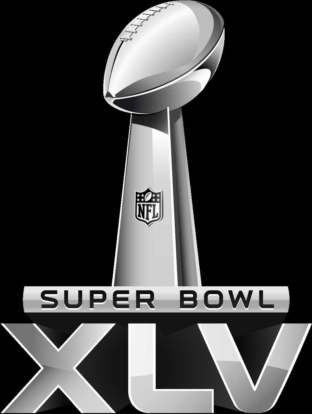 Super Bowl Xlv - Super Bowl Vector, Transparent background PNG HD thumbnail