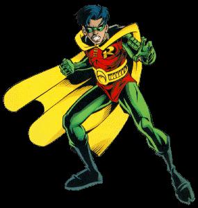 Superhero Robin PNG