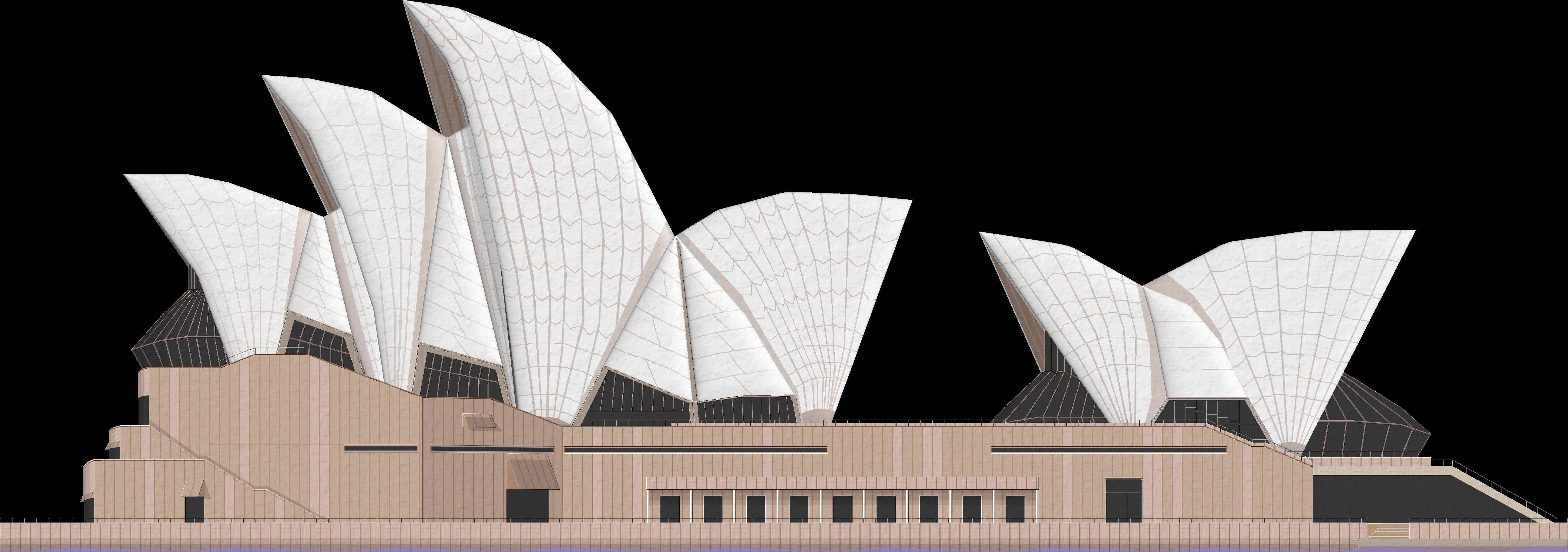 Sydney Opera House Png File - Sydney, Transparent background PNG HD thumbnail