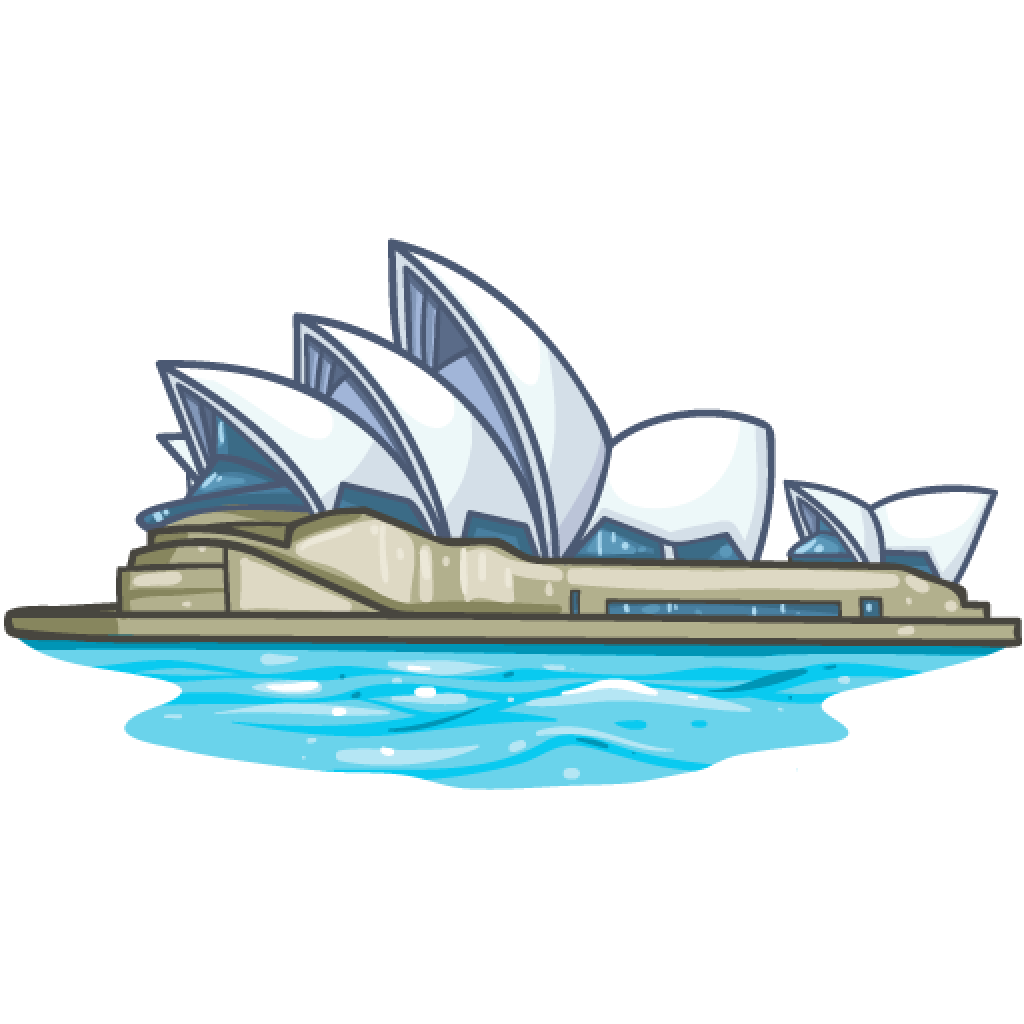 Sydney Opera House Png Photos - Sydney, Transparent background PNG HD thumbnail