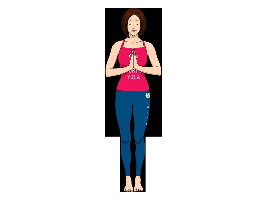 Tadasana Yoga Pose Png - Tadasana Yoga Pose Png Hdpng.com 900, Transparent background PNG HD thumbnail
