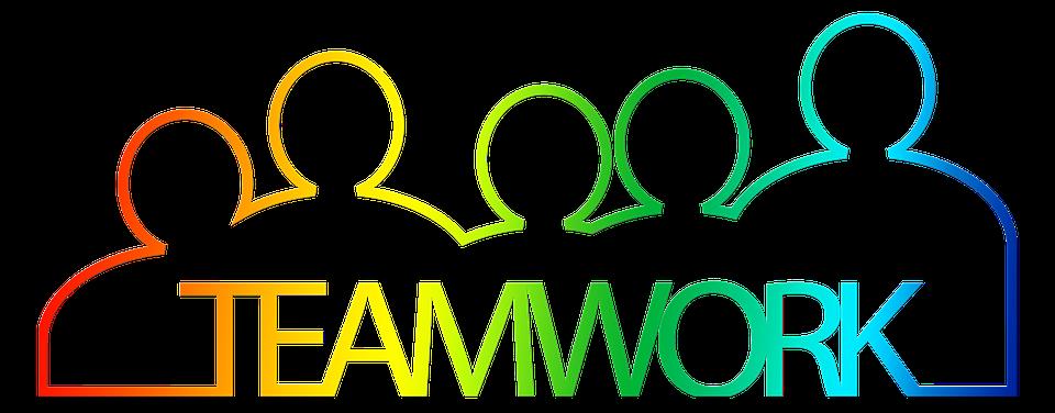 Teamwork, Team, Personal, Group, Silhouettes, Man - Teamwork, Transparent background PNG HD thumbnail