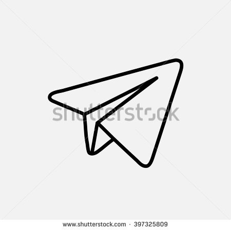 Aircraft Blue Vector Logo, Jpg, Jpeg, Eps Icon Button. Flat Social Media - Telegram Vector, Transparent background PNG HD thumbnail