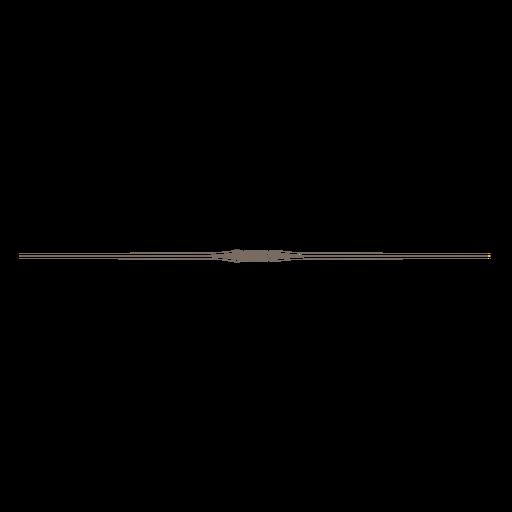 Decorative Line Black Png - Tiny Edge Line Decorative Divider Png, Transparent background PNG HD thumbnail