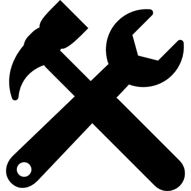 Tools Cross Settings Symbol For Interface - Tool, Transparent background PNG HD thumbnail