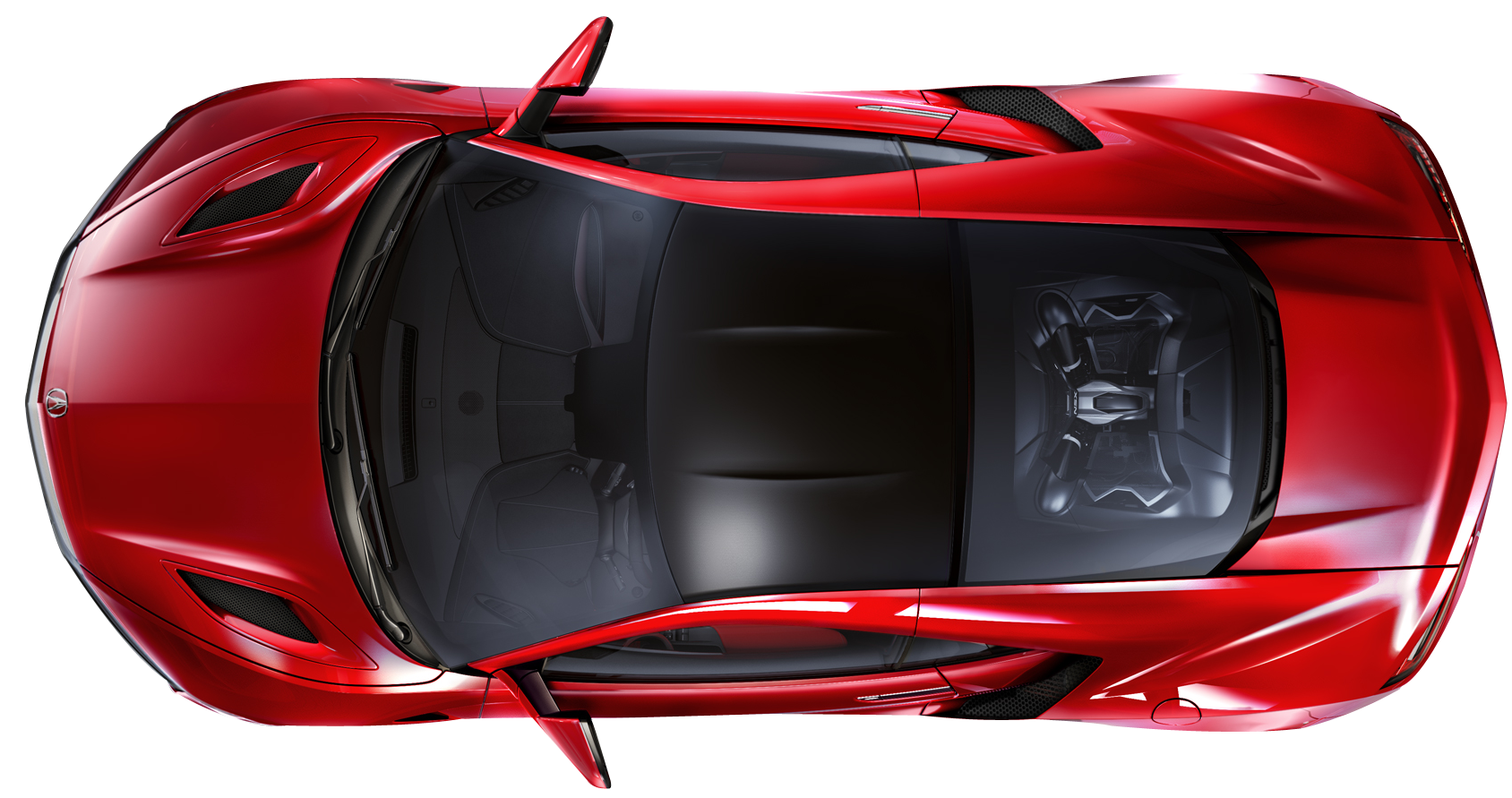 Top View Of A Car PNG