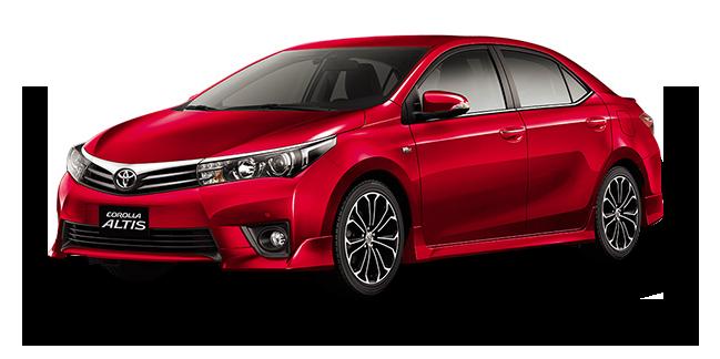 Red Mica Metallic - Toyota Altis, Transparent background PNG HD thumbnail