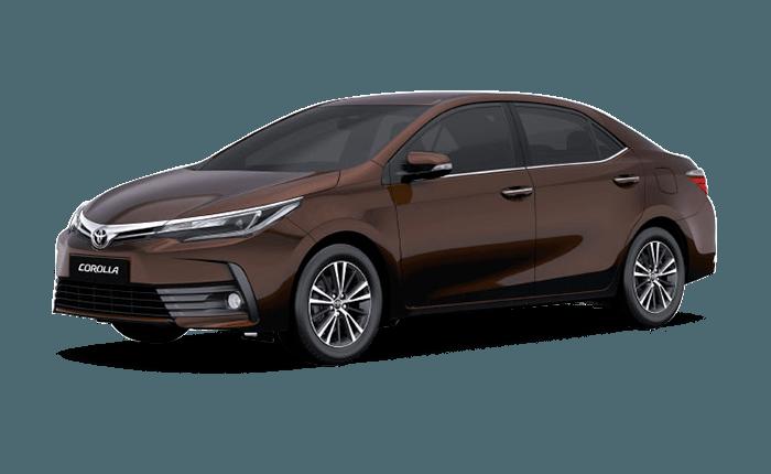 Toyota Corolla Altis Phantom Brown - Toyota Altis, Transparent background PNG HD thumbnail
