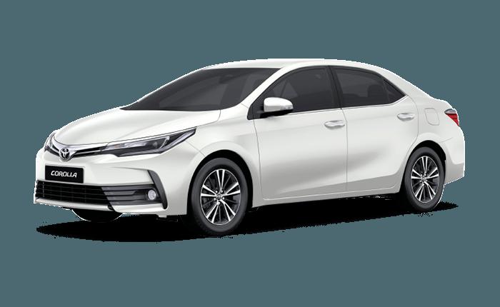 Toyota Corolla Altis White Pearl Crystal Shine - Toyota Altis, Transparent background PNG HD thumbnail