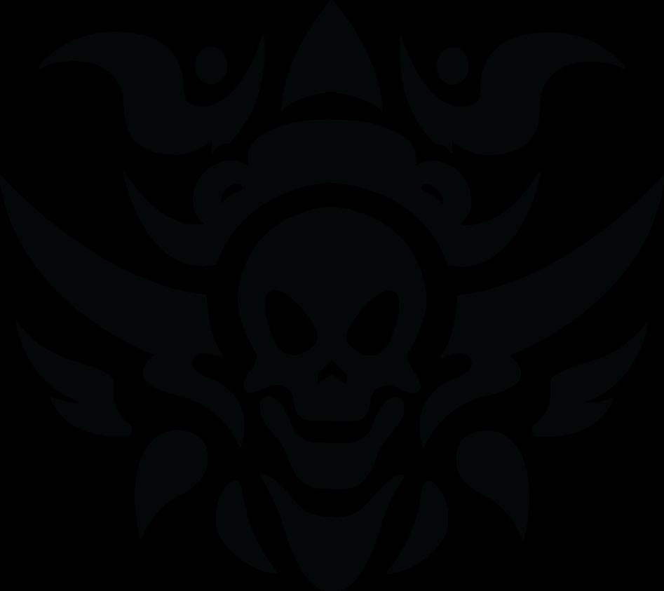 Tribal Skull Tattoos Free Download Png Png Image - Tribal Skull Tattoos, Transparent background PNG HD thumbnail