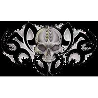 Tribal Skull Tattoos Free Png Image Png Image - Tribal Skull Tattoos, Transparent background PNG HD thumbnail