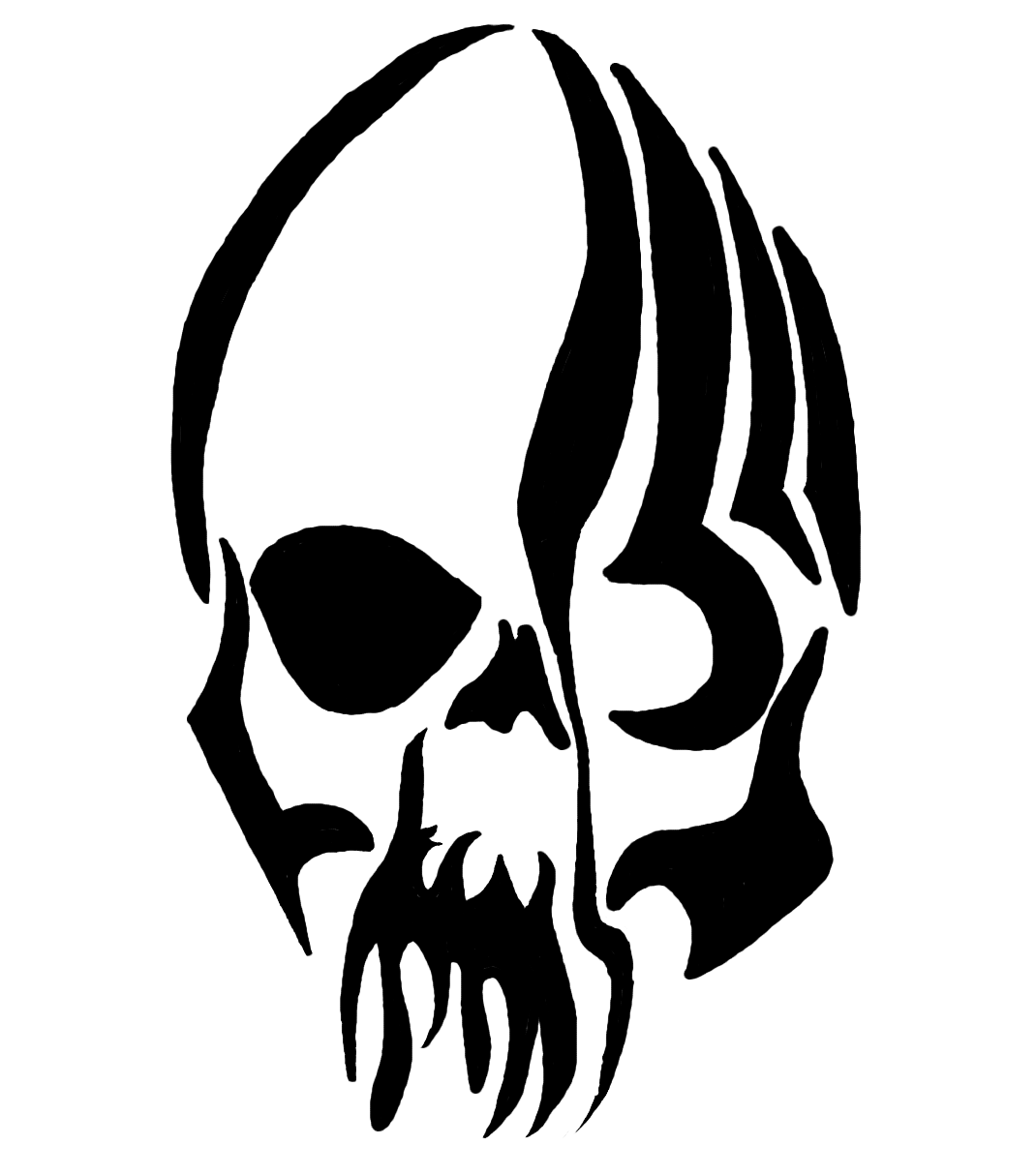 Tribal Skull Tattoos Png Image #19371 - Tribal Skull Tattoos, Transparent background PNG HD thumbnail