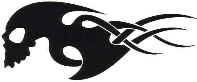 Tribal Skull Tattoos Png Image #30751 - Tribal Skull Tattoos, Transparent background PNG HD thumbnail