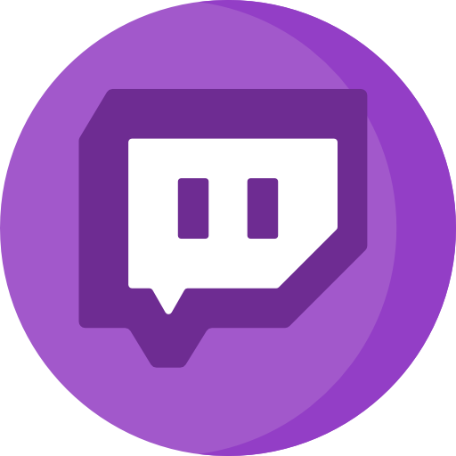 Twitch Free Icon - Twitch, Transparent background PNG HD thumbnail
