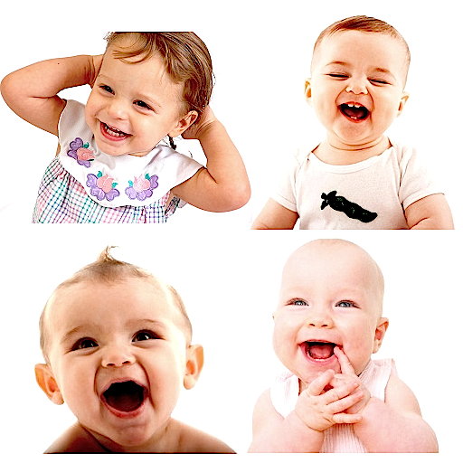 Laugh Along With This Youtube Video As Two Babies Have Fun With A Rubber Band. - Two Babies, Transparent background PNG HD thumbnail