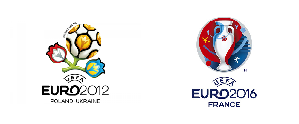 New Logo And Identity For Uefa Euro 2016 By Brandia Central - Uefa Euro 2017 Vector, Transparent background PNG HD thumbnail