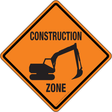 Under Construction Png Hd Free - Get Free Hd Construction Signs Clipart! Road Construction Clipart Illustrations Construction Clipart · Stop Sign, Blank Construction Sign Powerpoint Clip, Hdpng.com , Transparent background PNG HD thumbnail