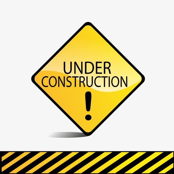 Under Construction Png Hd Free - Vector Warning Signs, Hd, Vector, Yellow Png And Vector, Transparent background PNG HD thumbnail