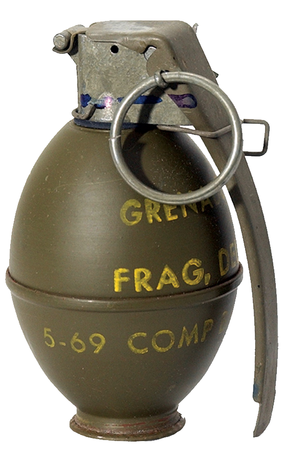 Us Hand Grenade Png Image - Grenade, Transparent background PNG HD thumbnail