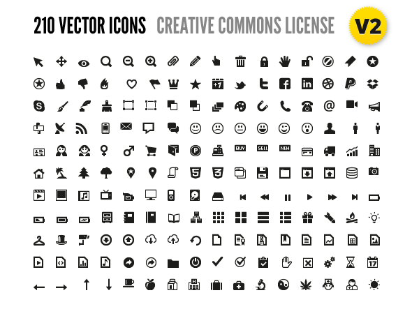 210 Vector Icons For Wireframes  Web Design - Vector Icon, Transparent background PNG HD thumbnail