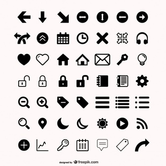Assorted Icons Set - Vector Icon, Transparent background PNG HD thumbnail