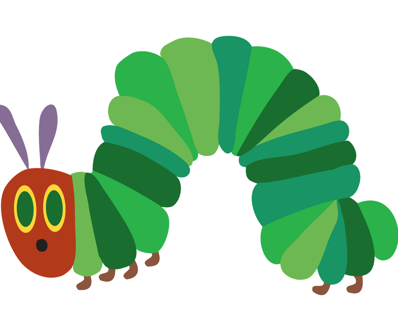 Very Hungry Caterpillar Png - The Very Hungry Caterpillar At The Kay Meek Centre West Vancouver /u003E, Transparent background PNG HD thumbnail