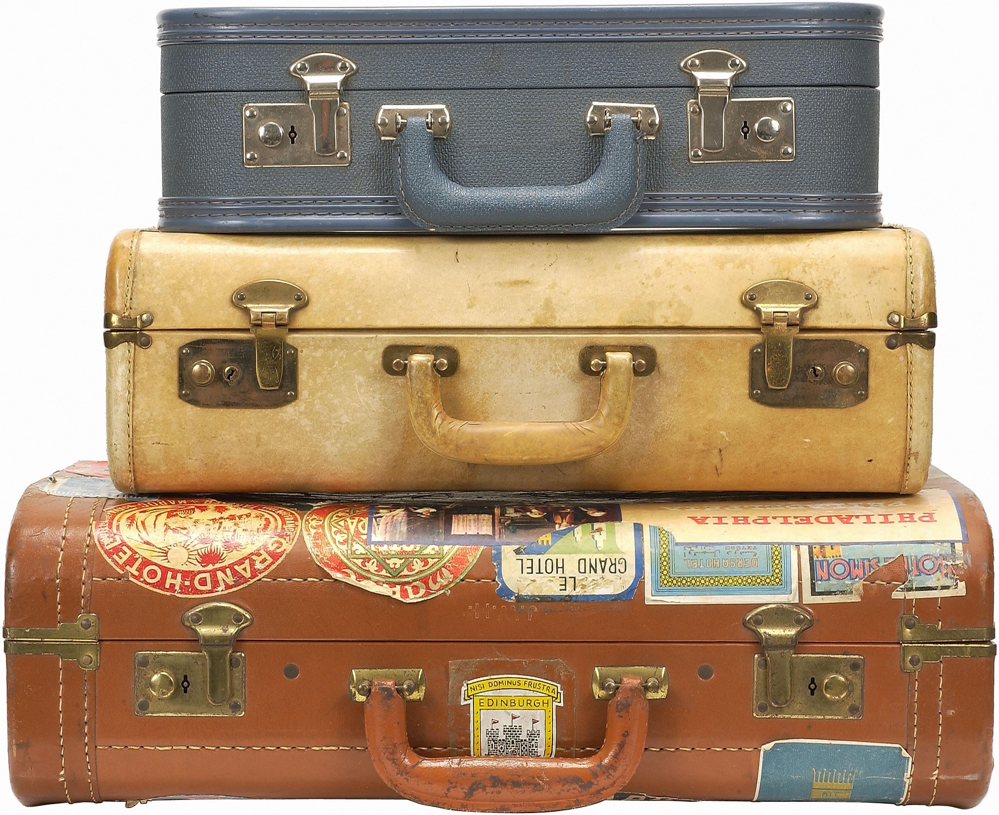 Vintage Suitcase PNG