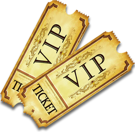 Vip Ticket PNG