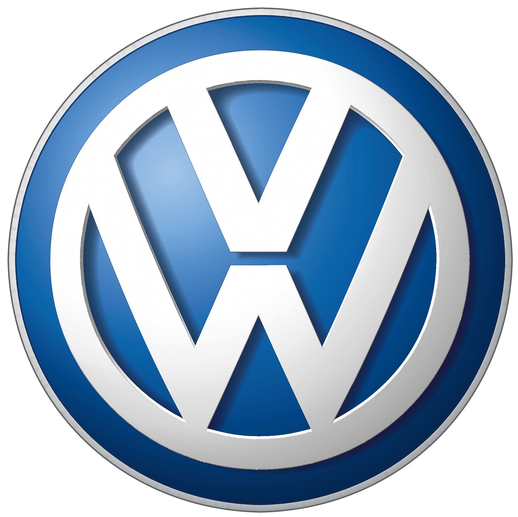 Volkswagen Car Logo Png Brand Image - Car, Transparent background PNG HD thumbnail