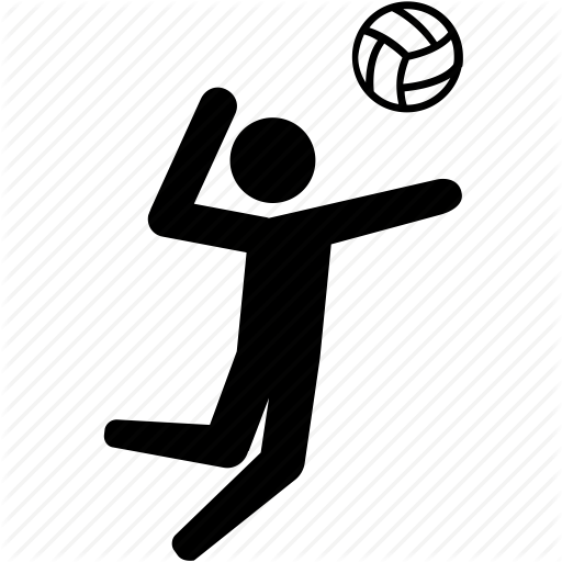 Volleyball Hit Png - Hit Jump Spike Sport Volley Volleyball Iconu20135, Transparent background PNG HD thumbnail