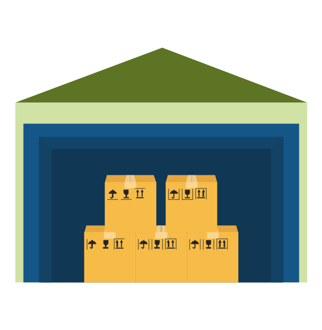 Warehouse, Warehouse, - Warehouse Group Vector, Transparent background PNG HD thumbnail
