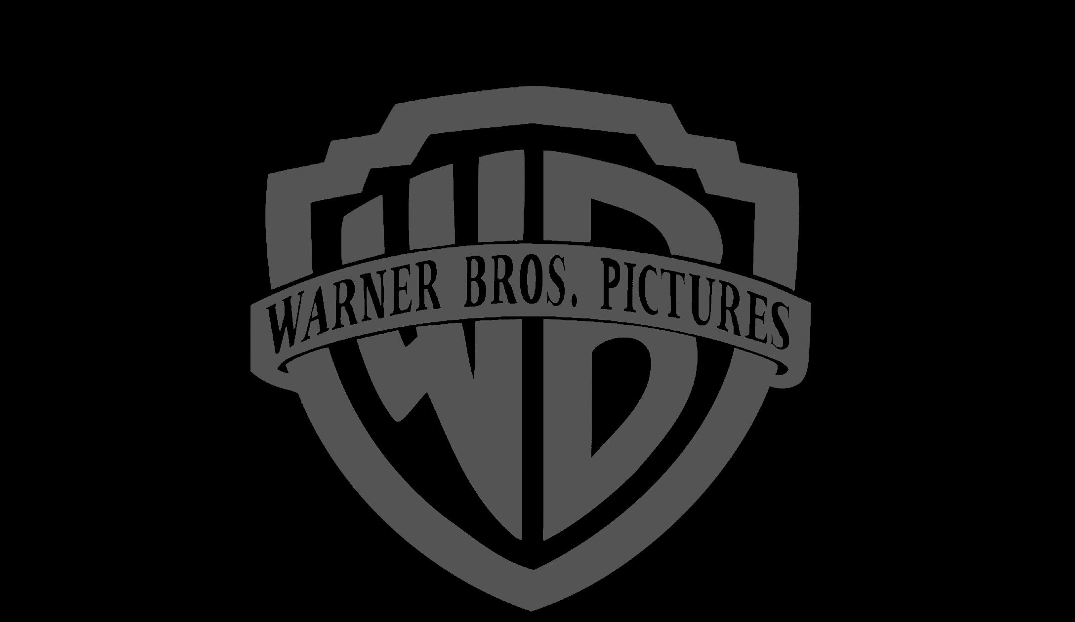 Png 2176X1260 Warner Bros Logo Black Background - Warner Bros, Transparent background PNG HD thumbnail