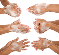 Wash Hands PNG HD