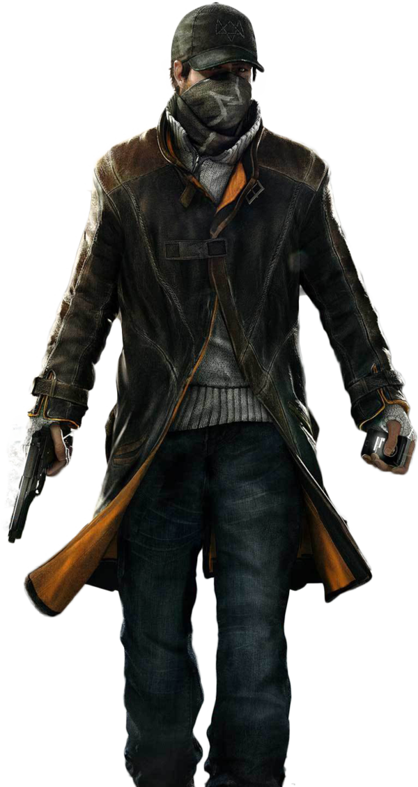 Watch Dogs   Aiden Render By Ashish913 By Ashish Kumar Hdpng.com  - Watch Dogs, Transparent background PNG HD thumbnail