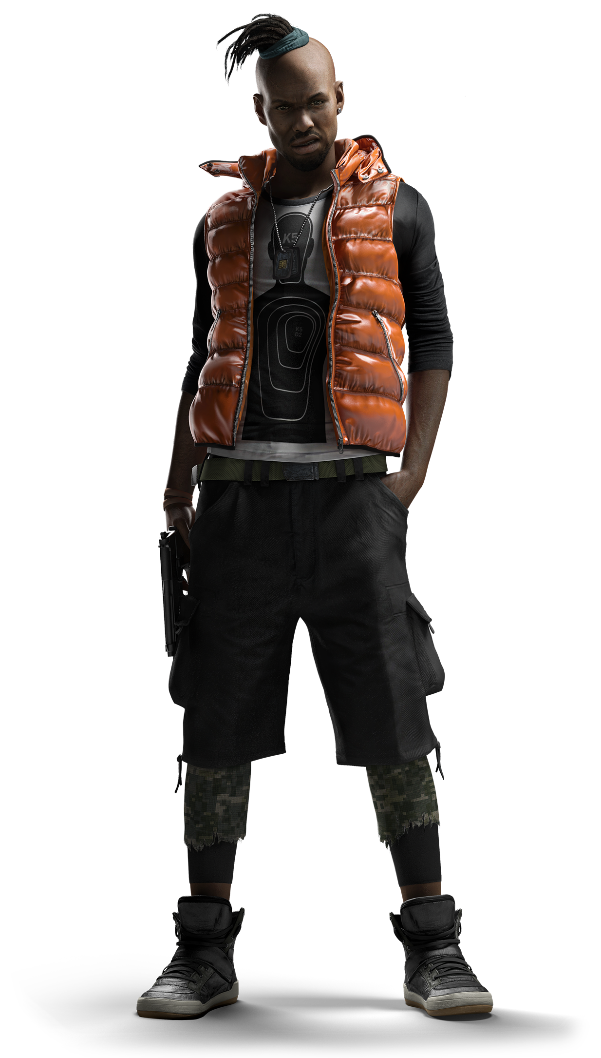 Watch Dogs Anthony Wade.png - Watch Dogs, Transparent background PNG HD thumbnail