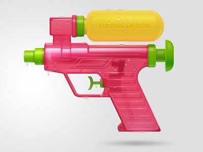 1 - Water Gun, Transparent background PNG HD thumbnail