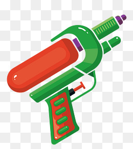 Vector Toy Water Gun Material, Vector Material, Toy, Water Gun Png And Vector - Water Gun, Transparent background PNG HD thumbnail