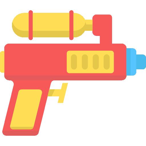 Water Gun Free Icon - Water Gun, Transparent background PNG HD thumbnail