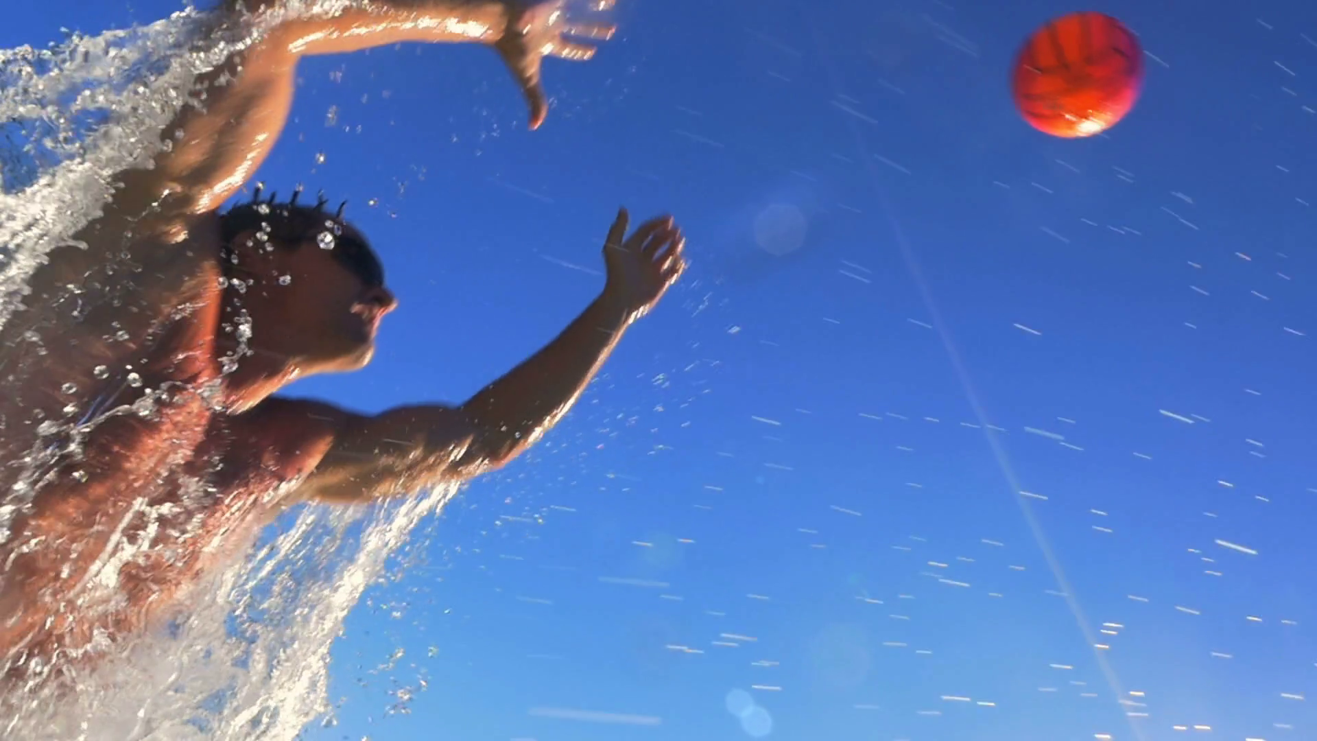 Water Polo Png Hd - Hd Slow Mo: Man Pass A Water Polo Ball Stock Video Footage   Videoblocks, Transparent background PNG HD thumbnail