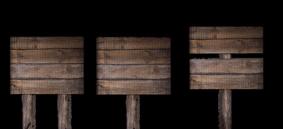 Schild, Tafel, Holz, Wegweiser, Beschriften - Wegweiser Holz, Transparent background PNG HD thumbnail
