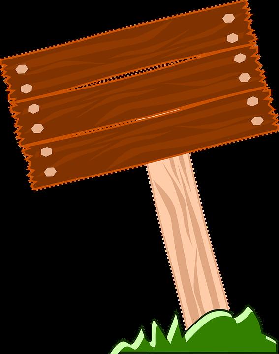 Wegweiser, Holz, Leere, Gras, Natürliche - Wegweiser Holz, Transparent background PNG HD thumbnail