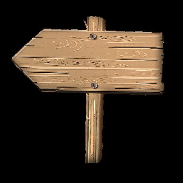 Kostenlose Illustration: Schild, Wegweiser, Wegzeiger   Kostenloses Bild Auf Pixabay   504428 - Wegweiser Leer, Transparent background PNG HD thumbnail