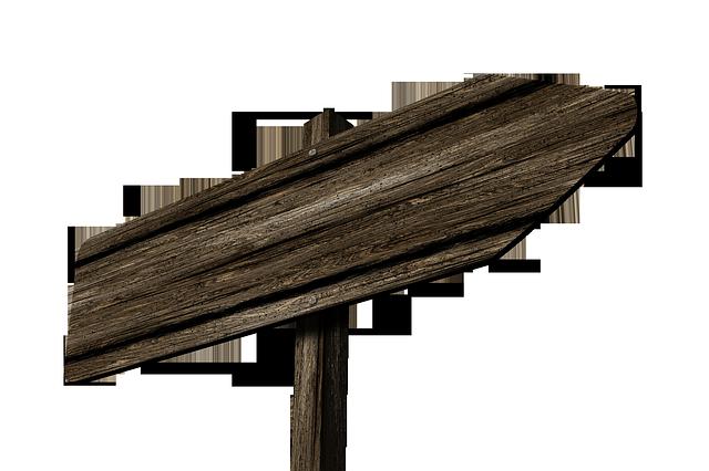Kostenlose Illustration: Wegweiser, Wegzeiger, Holz   Kostenloses Bild Auf Pixabay   235562 - Wegweiser Leer, Transparent background PNG HD thumbnail