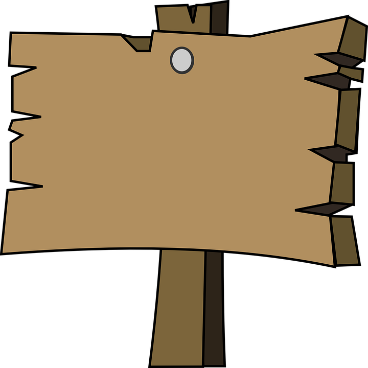 Signal, Holz, Reiner, Leer, Wegweiser - Wegweiser Leer, Transparent background PNG HD thumbnail