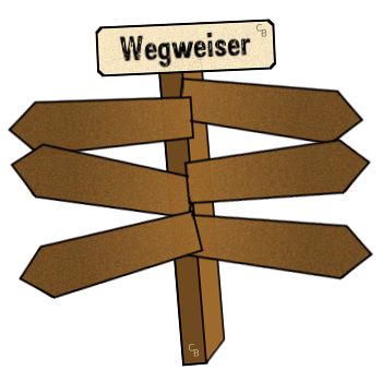 Wegweiser Aquarium - Wegweiser Leer, Transparent background PNG HD thumbnail