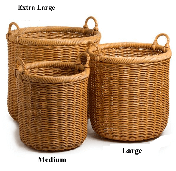 Quick View - Wicker Basket, Transparent background PNG HD thumbnail