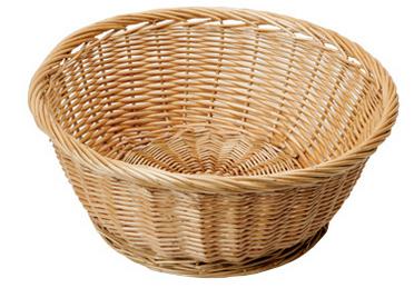Round Shape Food Wicker Tray Hand Weaving Wicker Basket - Wicker Basket, Transparent background PNG HD thumbnail