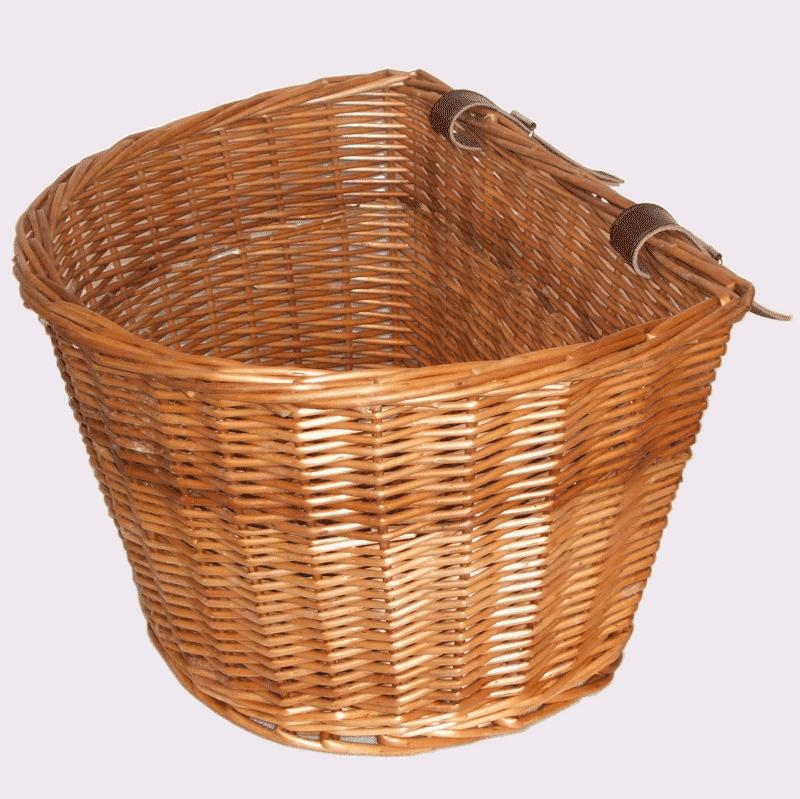 Wicker E Bike Basket   Large - Wicker Basket, Transparent background PNG HD thumbnail