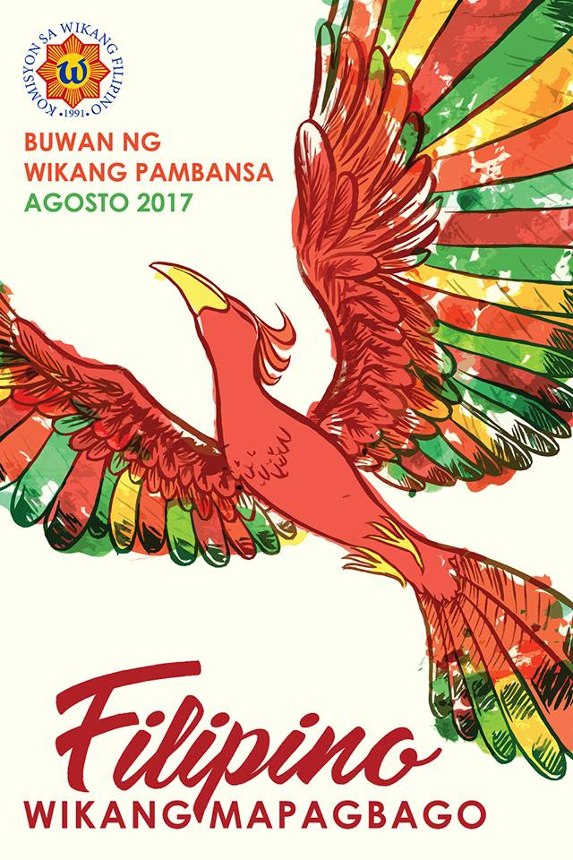 Official Poster Buwan Ng Wika 2017 - Wikang Filipino, Transparent background PNG HD thumbnail