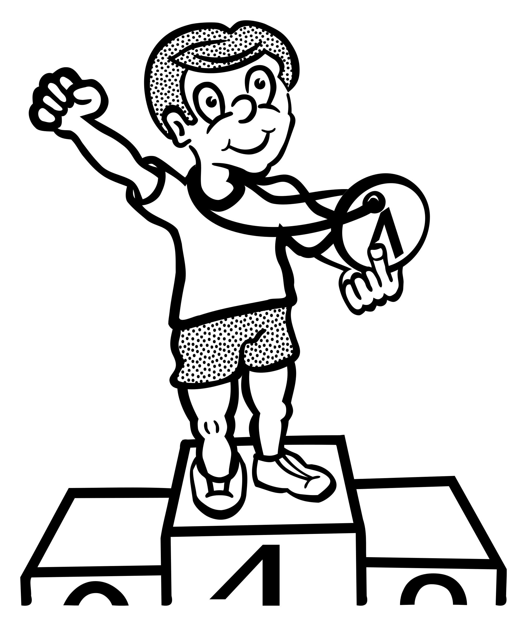Clipart - Win Black And White, Transparent background PNG HD thumbnail